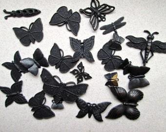Desash of Metal Butterfly Stampings