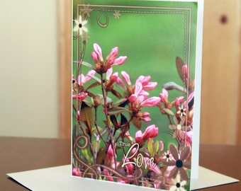 True Love Nature Photo Inspirational Greeting Card 5x7