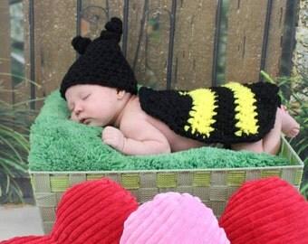 Bumble Bee Newborn Photo Prop