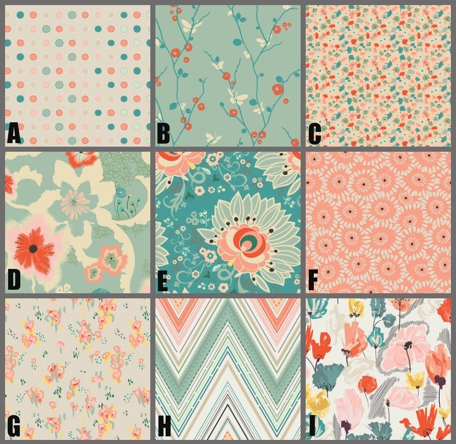 final design of your own baby bedding | Custom Crib Bedding Nursery and Home Decor / Design Your Own
