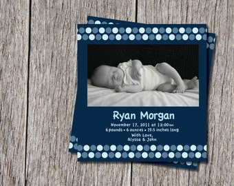 Baby Boy & Girl Birth Announcements