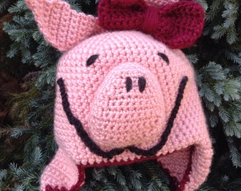 Olivia the Pig Hat