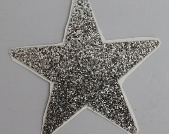 Glittery STAR Sticker (from the 80's!)