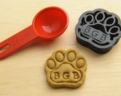 Dog Paw Cookie Cutter Custom Treat Personalized Pet Mini