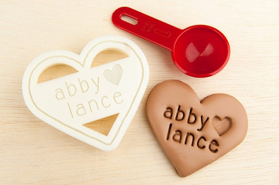 Romantic gifts for vegans: heart-shaped cookie cutter