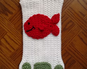 Cat Paws Christmas Stocking