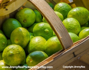 Green limes food picture kitchen wall decor art office photos restaurant photography cafe prints