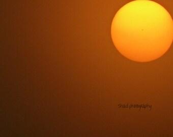 sun color astrophotography picture