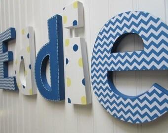 Nursery decor, Nursery wall decor, nursery letters, baby boy nursery letters, nursery decor, nursery wall letters