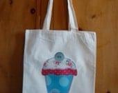 Personalised Cupcake Shopper Bag