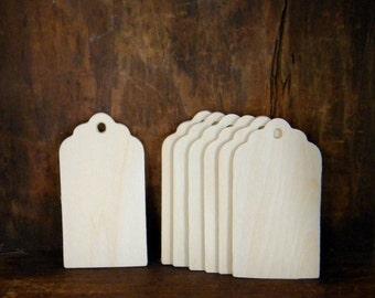 20 Unfinished Wood Tags, DIY Wedding Favor Tags, Gift Tags, DIY Christmas Gift Tags