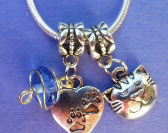 Clearance ~ Adorable Cat Charm Necklace!