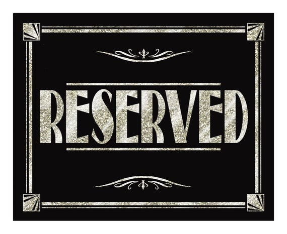 RESERVED Sign Silver Deco Collection Print As Many As You