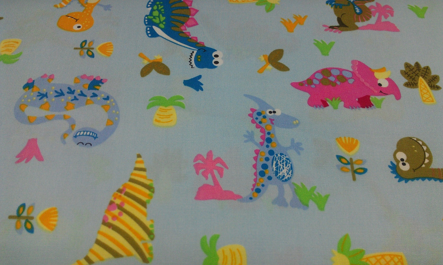 Dinosaur fabric cotton print fabric for Dinosaur fabric
