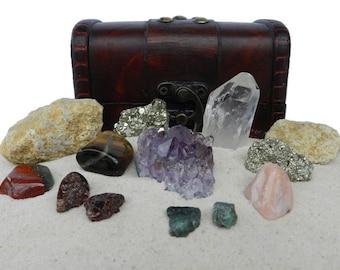 Gems Minerals & Stones Treasure Chest - Collector