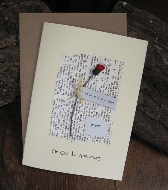 first anniversary paper Celebrating an anniversary shows that marriage is a priority in our life   traditional anniversary gifts (giving something made of paper for your first  anniversary,.