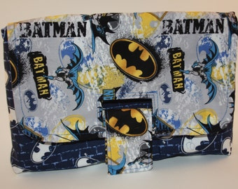 Batman Strap Clutch Bag