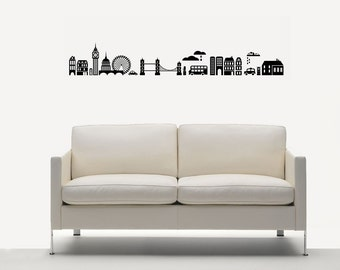 SCENIC CITY Wall Sticker Decal Removable Vinyl Home Decor Room Birthday Gift Wall Interior Design Art Mural Room Ideas 7147L