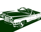 Cadillac DeVille Convertible. Choose your Size, Material, Color, & Model Year Customizations