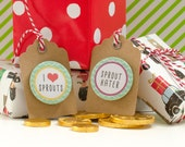 Sprout Christmas Gift Tag