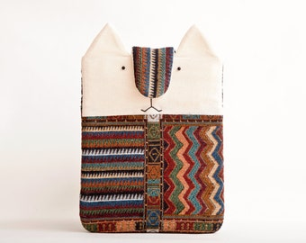 Tribal iPad Case, iPad Sleeve, iPad Cover, Cat