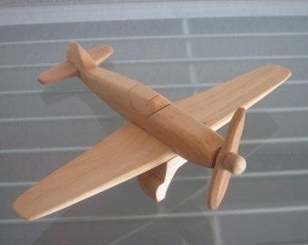 Messerschmidt  airplane flier vintage wood handmade