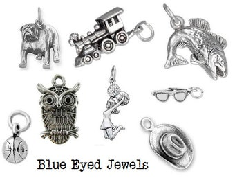 Add On Charm Antique Pewter Charms