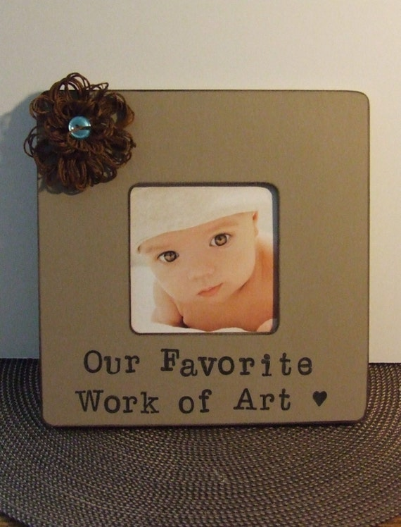 Baby Gifts For New Grandparents : Baby frame for new parents personalized grandparents gift