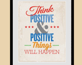 Positive things | Etsy