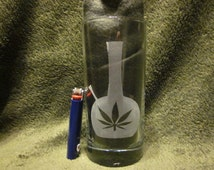 Cooler Glass with Bong Design