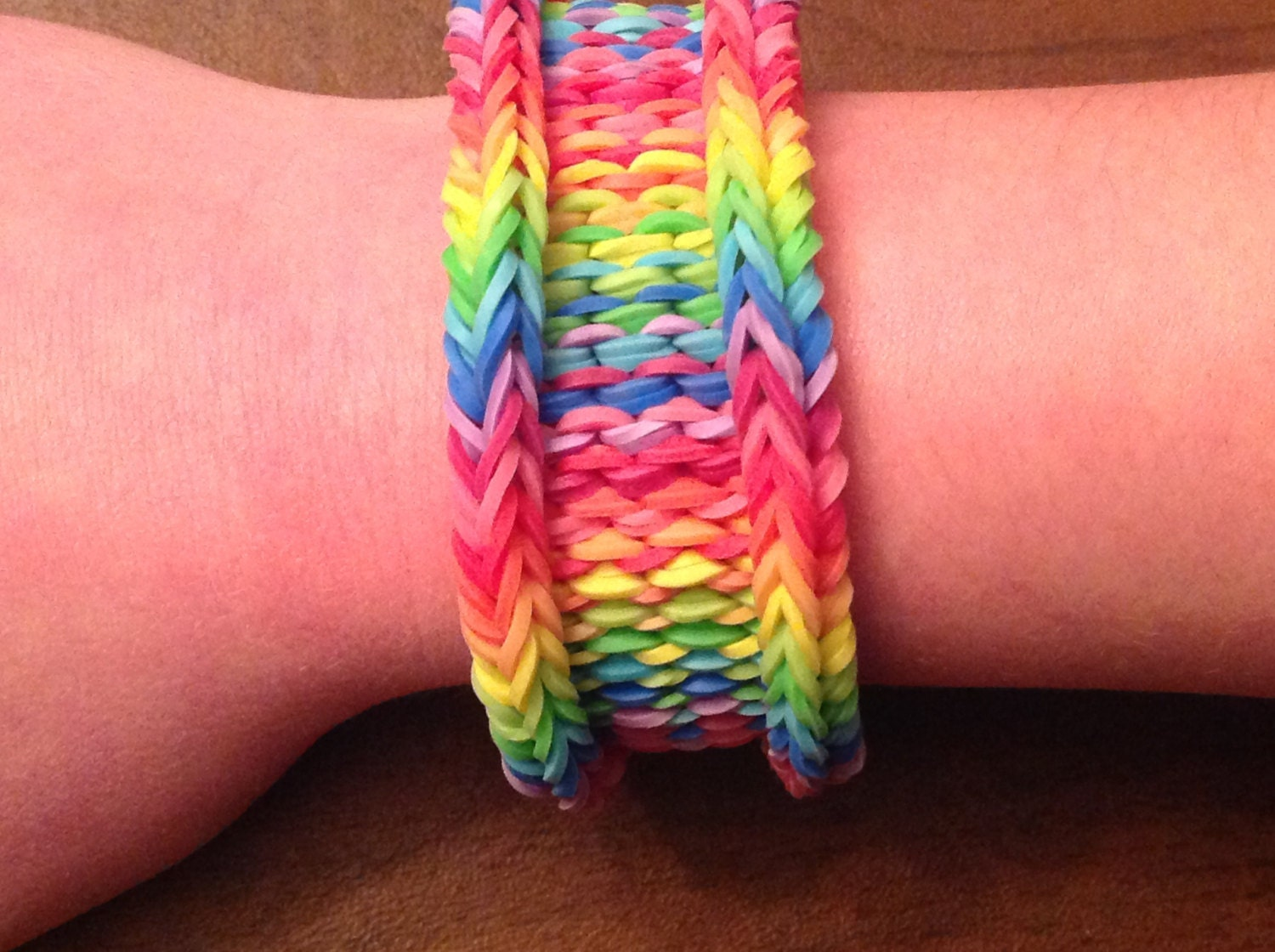 How To Make The Basket Weave Rainbow Loom : Rainbow loom bracelet original design the by