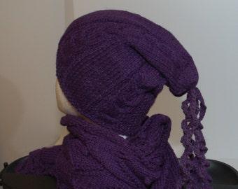 Hat, 100% Baby Alpaca, handmade