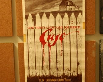 Cujo home video release insert