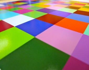 "Math Art Digital Print - ""100 colouRs"""
