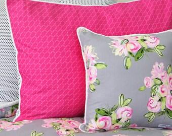 hot pink pillow sham