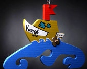 baby clothes  hanger (trempel) - boat gift for children