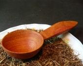 1 tablespoon, wooden measuring spoons, tea or coffee measuring scoop, plum wood spoon