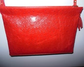 Red genuine leather clutch, Evening bag, Lucy clutch, Wedding clutch, Genuine leather clutch, Woman Clutch, Leather woman bag