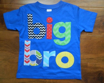 Big Brother Shirt, Big Bro Shirt, Big Bro T-Shirt
