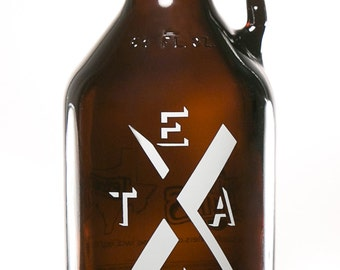 teXas 64 oz. Growler