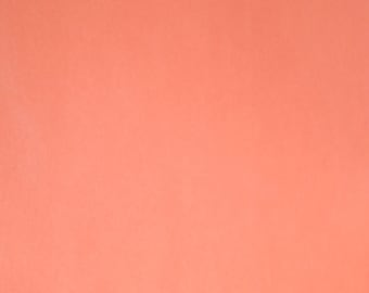 12x12 Double Sided Solid Orangesicle Paper