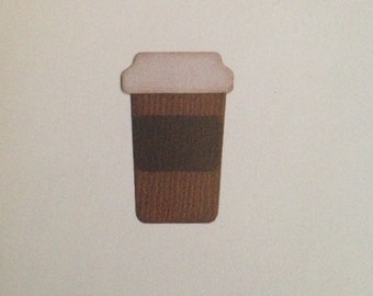 Quickutz On the Go Coffee Cup Die Cuts
