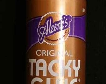 Aleene's Fast Grab Tacky Glue Reborn Doll Craft 4 oz Supplies Permanent 2836