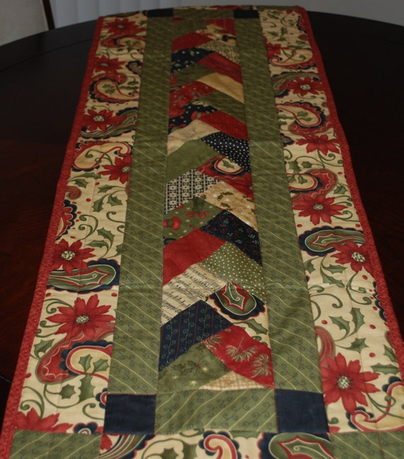 Etsy Table  Items Runner similar Christmas table to etsy runner Country on