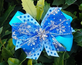 Snow Flake Stacked Bow