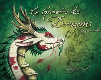 """fantastic book """"book of dragons, trip to Asia"""""""