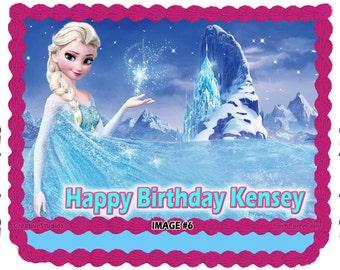 Albertsons Frozen Cake Party Invitations Ideas