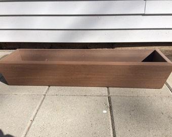 AZEK/TREX Composite Flower Box, Window Box or Planter