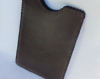 Leather tablet case, leather iPad mini case, Nook case, tablet sleeve