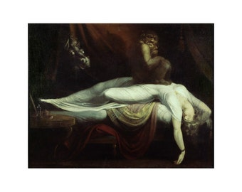 Fuseli - The Nightmare beautiful fine art print in choice of sizes